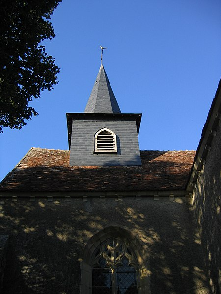 Vue du clocher.
