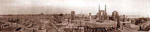 Great Salem fire of 1914 - Aftermath of the Great Fire in 1914