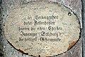 Salzburg, Petersfriedhof-Katakomben, Schild.jpg