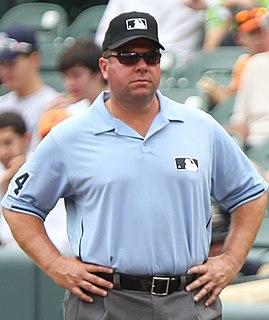 Sam Holbrook MLB umpire