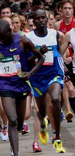 Kenyan long-distance runner