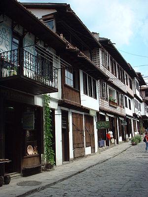 Samovodska Charshiya street Veliko Tarnovo Bulgaria