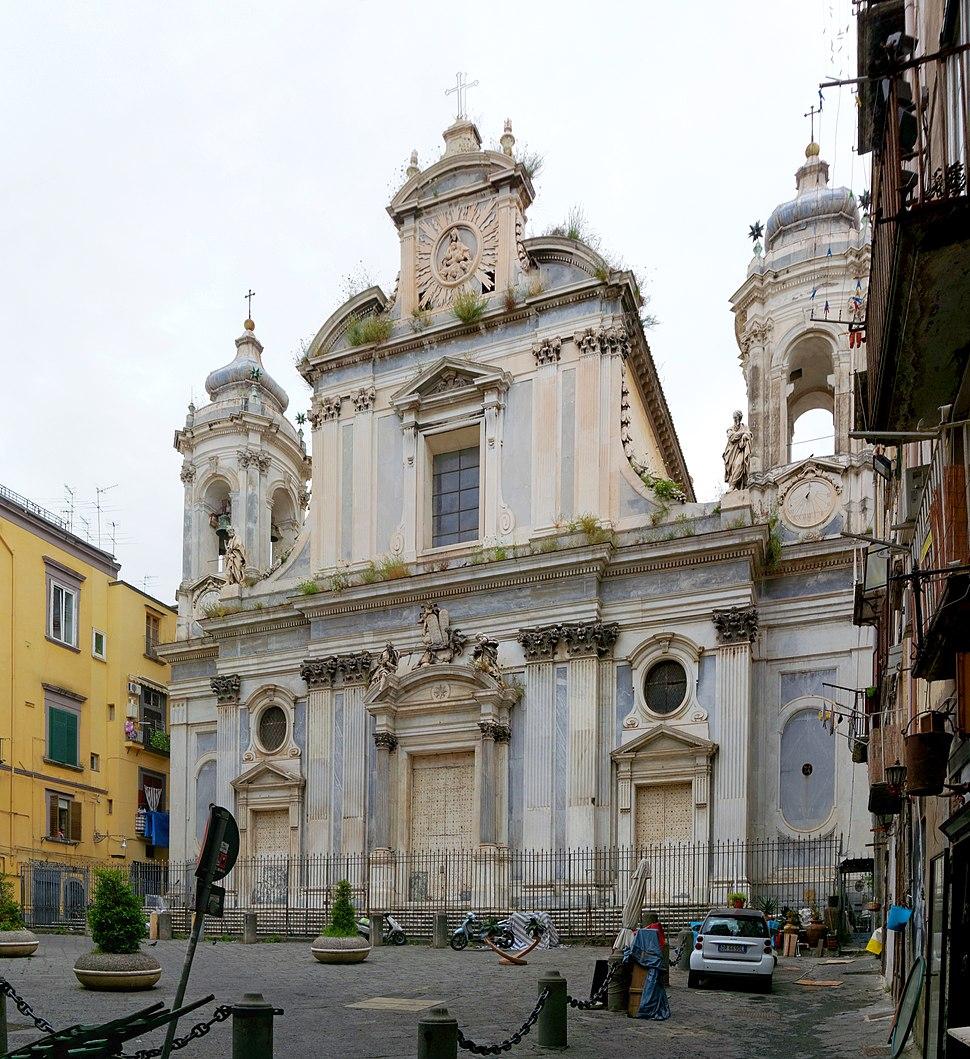 San Filippo Neri dei Girolamini (Naples) BW 2013-05-16 11-42-11