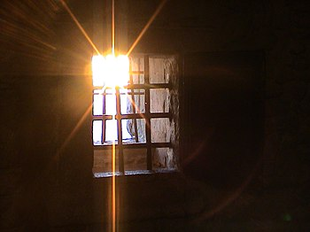 The prison cell of Cagliostro, fortress of La ...