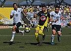 San Luis - Colo-Colo, 2018-04-08 - Juan Manuel Insaurralde, Mauro Caballero y Óscar Opazo.jpg