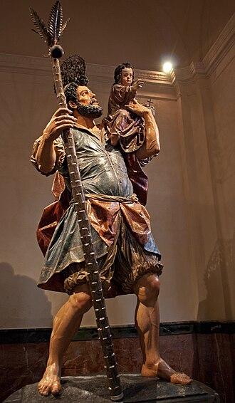 Juan Martínez Montañés - Saint Christopher (1597)