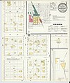 Sanborn Fire Insurance Map from Woonsocket, Sanborn County, South Dakota. LOC sanborn08278 005-1.jpg