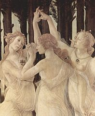 Primavera (Allegory of Spring), Sandro Botticelli 1482