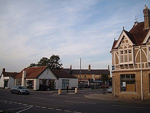 Sandy, Bedfordshire - Image: Sandy market square