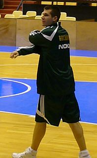 Sani Bečirovič Slovenian basketball player