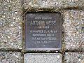 Sankt-Annen-Straße 8 in Celle, Arthur Wese, Stolperstein für das Homosexuellen im Bürgersteig.jpg