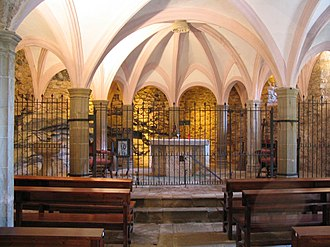 Sant Miquel del Fai - Interior view