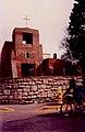 Santa Fe NM 1996 - Old Church and bicycle.jpg