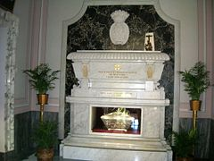 Tomb - Bl. Maria Maddalena Starace