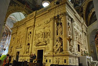 Basilica della Santa Casa - Marble screen around the Holy House