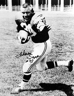 Theron Sapp Player of American football