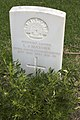 Sapper L J Mather gravestone in the Wagga Wagga War Cemetery.jpg