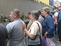 Sarajevans in funeral of 136 Srebrenica genocide victims July 2015 090720151601.jpg