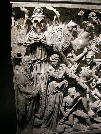 Portonaccio sarcophagus - Image: Sarcofago dio portonaccio, 10