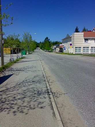 Rautavaara - Savontie road in Rautavaara