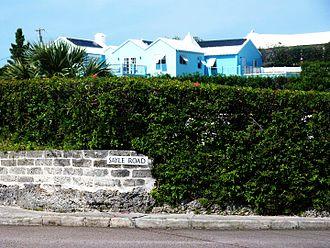 William Sayle - Sayle Road, in Devonshire, Bermuda