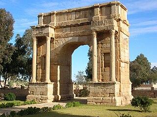 Sbeitla Place in Kasserine Governorate, Tunisia