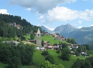 St. Peter-Pagig Former municipality of Switzerland in Graubünden