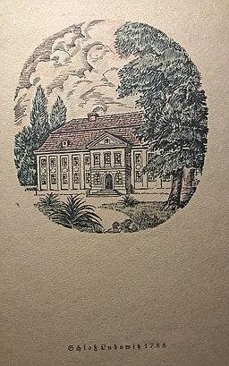 Pałac w Łubowicach 1788
