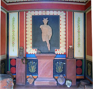 Römermuseum Schwarzenacker - Interior of the Gallo-Roman Temple, Schwartzenacker