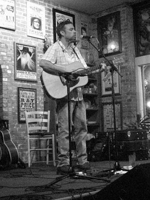 Scott Miller (country musician) - Scott Miller performs in Dallas, Texas, on June 26, 2009