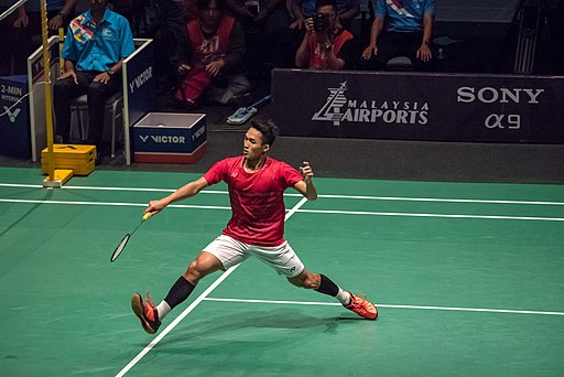 Sea Games Badmintion Final (36951524980)