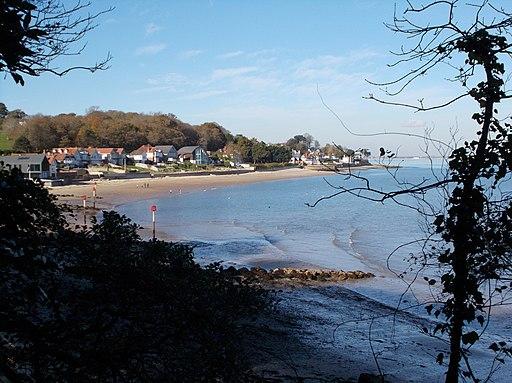 Seagrove Bay, Isle of Wight, UK