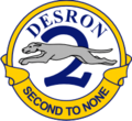 Seal of Destroyer Squadron 2 (1976).png
