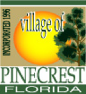 Pinecrest, Florida - Image: Seal of Pinecrest, Florida