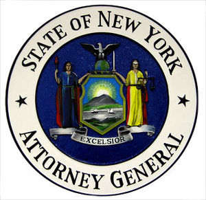 Attorney General of New York - Image: Seal of the Attorney General of New York