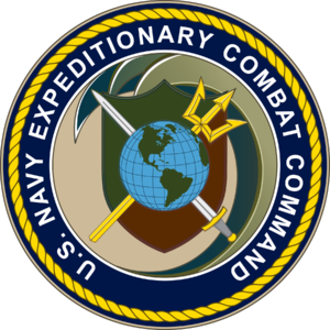 Explosive ordnance disposal (United States Navy) - Image: Seal of the United States Navy Expeditionary Combat Command