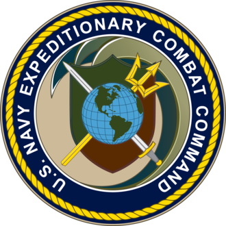 Navy Expeditionary Combat Command - The seal of the U.S. Navy Expeditionary Combat Command.