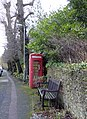 Seat and Telephone Box, High Street, Limpsfield, Surrey - geograph.org.uk - 1134001.jpg