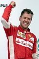 Sebastian Vettel 2015 Malaysia podium 2.jpg