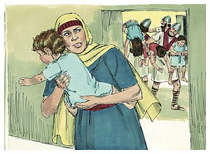 Second Book of Kings Chapter 11-1 (Bible Illustrations by Sweet Media).jpg