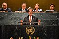 Secretary Kerry Delivers Remarks at the Event on the UN Paris Agreement Entry Into Force (29209457474).jpg