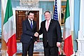 Secretary Pompeo and Italian Deputy Prime Minister Salvini Deliver Statements to the Press (48079584451).jpg