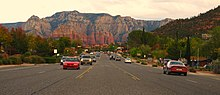 Sedona arizona wikipedia for Landscaping rocks yuma az