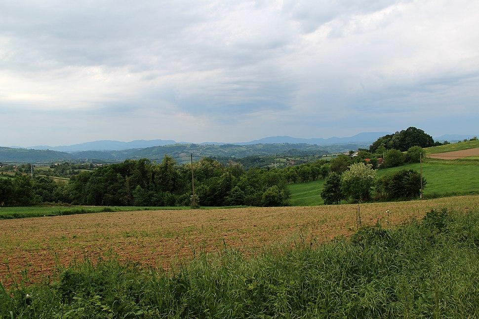 Selo Zlatarić - opština Valjevo - zapadna Srbija - Panorama 7