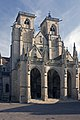 Semur en Auxois-Collégiale Notre Dame-Façade de la Collégiale Notre Dame-20110304.jpg