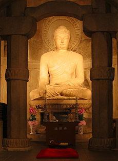 Seokguram Buddha.