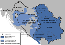 Serbia and Montenegro-Yugoslav Wars-Serbia in the Yugoslav Wars