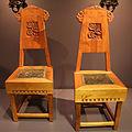 Sergueï vassilievitch malioutine per manifatture di talachkino, coppia di sedie, smolensk 1900 ca.JPG