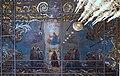 Serguiev Possad, Plafond de la basilique Laure de la Trinité-Saint-Serge.jpg