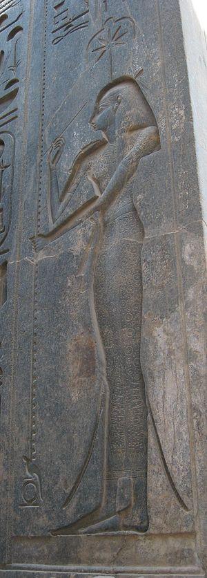 Seshat - Image: Seshat in Luxor